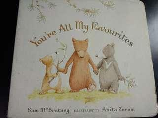 You are all my favourites紙板書