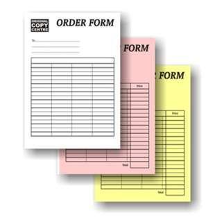 🚚 NCR Book Form 10 Books