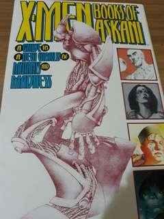 X-Men Booka of Askani A Guide to New World of Mutants and Madness