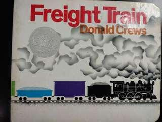 紙板書Freight Train by Donald Crews