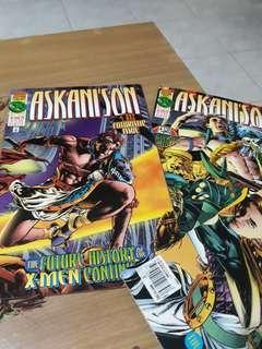 Marvel Comics Askani's Son 1, 2 and 4 set