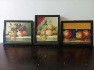 Lukisan buah kanvas