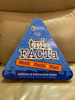 Learning Resources Tri-facta