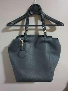 Topshop tote bag with sewn in pouch
