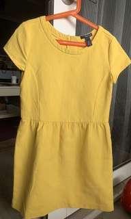 Gap Kids Girls Yellow Dress