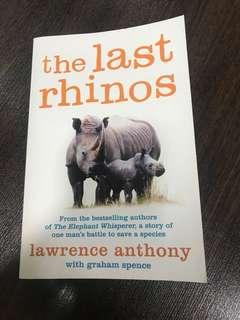 🚚 The Last Rhinos- Lawrence Anthony