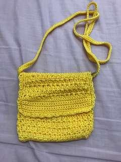 Sunshine Crochet Sling Bag