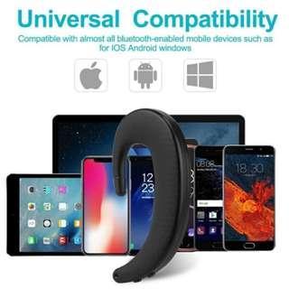 Painless Handsfree Music Wireless Bluetooth Smart Earhook Earphone
