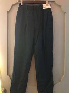 Uniqlo Dark Washed Denim Trousers
