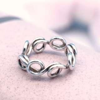 Silver twisted wire ring, man ring, woman ring, spring stackable ring, handmade geometric ring, unisex ring PR006 DOSPRI, Tigarpaws