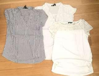 H & M Maternity Tops everything for $10