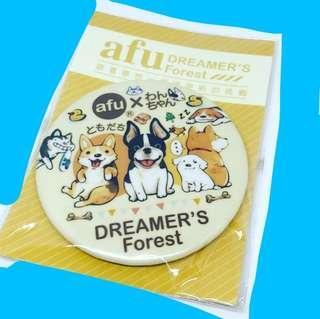 Designer by Afu (afu DREAMER'S Forest) 胸章