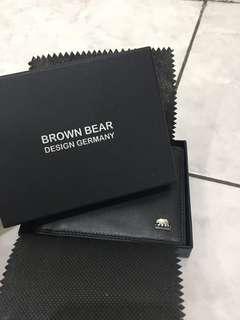 Dompet cowo/Man's wallet Brown Bear
