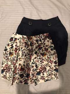 Stradivarius skirts
