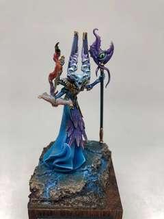 Warhammer Miniature Painting Chaos Gaunt Summoner of Tzeentch