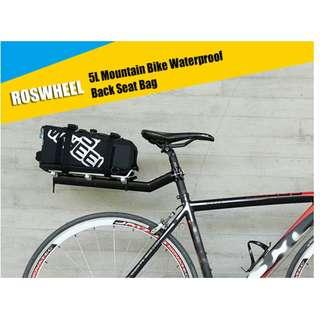 ROSWHEEL 5L MOUNTAIN BICYCLE WATERPROOF BACK SEAT PANNIER CYCLING BAG