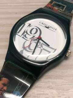 Crocodile 珍藏手錶,高級客戶才能擁有,日本機芯,加倍精準。$180