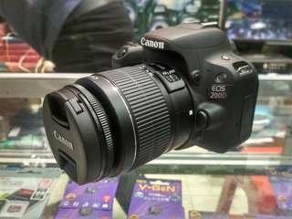 Canon 200D Bisa Kredit