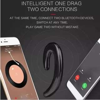 PAINLESS Handsfree Music Wireless Bluetooth Smart Earhook Earphone