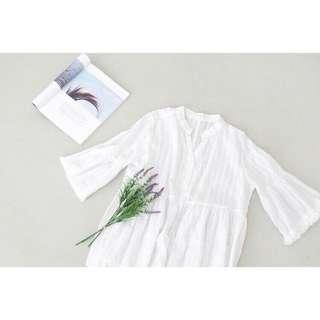 🚚 BABYDOLL BLOUSE WITH 3/4 SLEEVE