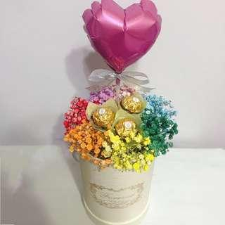 Limited! Chocolate Flower Box