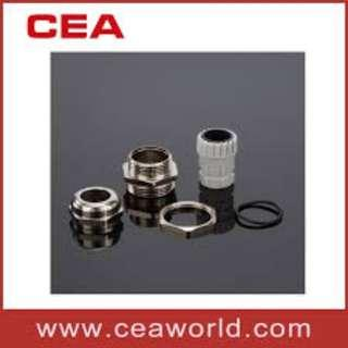 Cable Gland brass w/nickel (stainless)