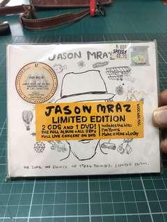 CD and DVD Jason MRAZ