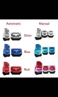 Customizable Car Pedals! Non-Slip! Stylish and Sleek! Auto and Manual Available!