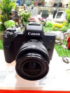 Kamera Canon Eos M50 Paling Murah (Bisa Kredit