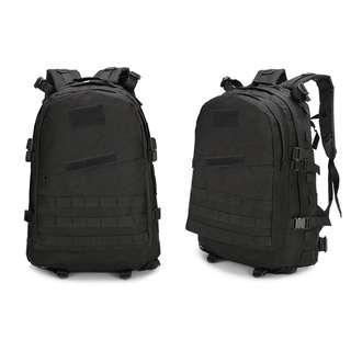 🚚 BN - Tactical Black Men's Backpack 45 Litres