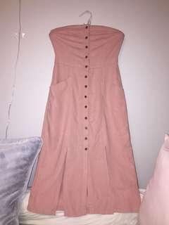 BDG strapless dress 🧡