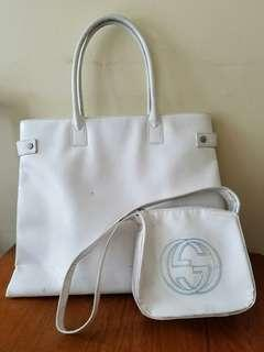Gucci hand bag patent leather