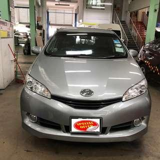 TOYOTA WISH FOR RENT FOR GRAB /WEEKLY RENTAL @$420