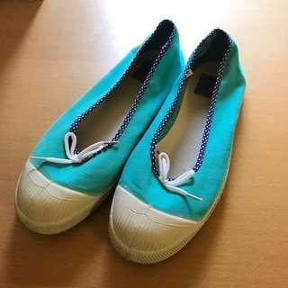 Bensimon 湖水綠娃娃鞋 平底鞋
