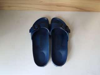 BIRKENSTOCK Navy Blue Sandals