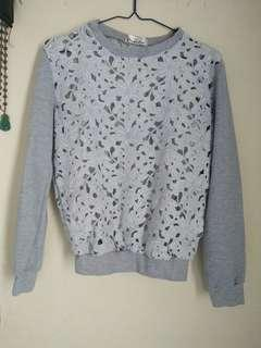 Long sleeve bordir top