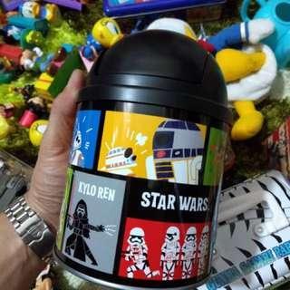Tin Starwars Dustbin