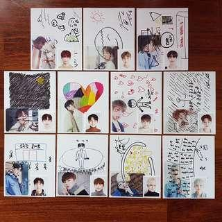 [Ready Stock] Wanna One D-icon (Loose Set)