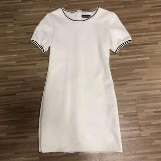 🚚 BN Humblebones White Jersey Dress