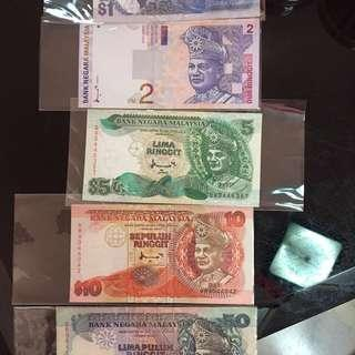 Malaysia Bank Notes