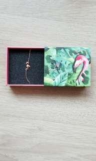 Arte flamingo bracelet 鑽飾 手鏈