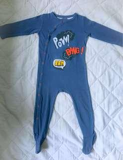 Mothercare sleepsuit size 12-18m