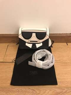 💯 authentic karl lagerfeld crossbody bag for let go!!