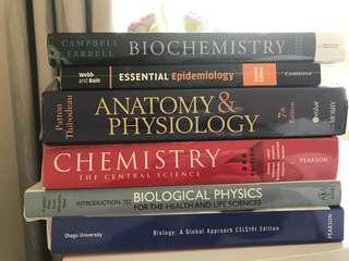 Otago Health Science First Year Books