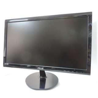 ASUS 20吋16:9 鋼琴烤漆液晶螢幕 寬螢幕 電腦螢幕 電腦