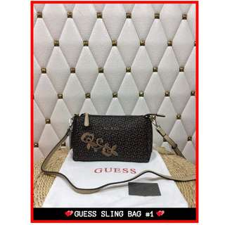 SALE❗❗❗ Guess Sling Bag Authentic 1-2 Days Shipping Only! Complete f4df2ab89c972