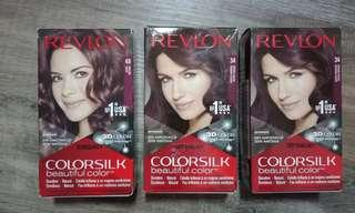 🚚 Halal Hair Dye Revlon Colorsilk Burgundy BNIB * 3