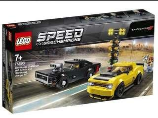 Lego Speed Champions 75893 Dodge 2019 478 pcs