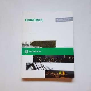 ECONOMICS:  CFA PROGRAM CURRICULUM 2013 LEVEL 1 (VOLUME 2)