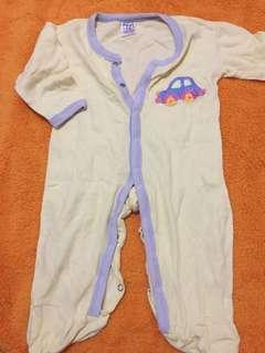 Sleepsuit/jumpsuit panjang merk next 9-12 mo